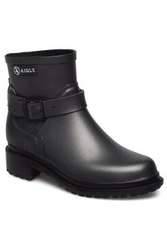 Ai Macadames Lw Metallic Shoes Boots Ankle Boots Ankle Boots Flat Heel Schwarz AIGLE(114161724)