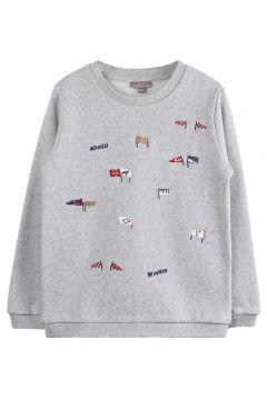Sweatshirt mit Stickerei(113868779)