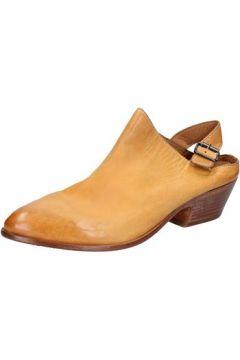 Sandales Moma sabot sandales jaune cuir BX975(115442712)