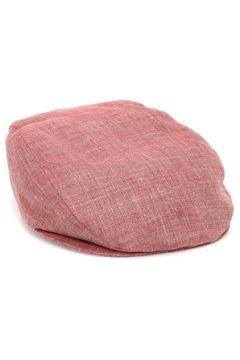 Grevi Erkek Kırmızı Keten Şapka L EU(117771944)