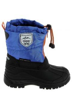 Bottes neige enfant Elementerre Picton K Bleu Orange(115460370)
