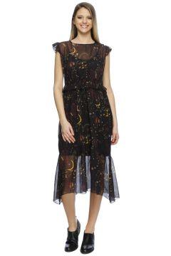 Black Pepper Baskılı Elbise(113955968)