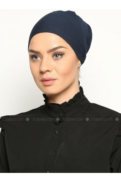 Cotton Bonnet - Navy Blue - Miray(110343571)