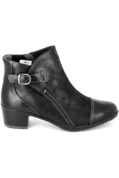 Bottes Boissy Boots 9919 Noir Gris(115460303)