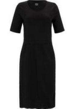 Jersey-Kleid mit Taschen Anna Aura schwarz(111503366)