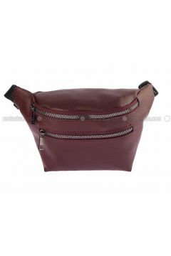 Maroon - Satchel - Bum Bag - Housebags(110339761)