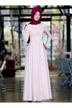 Robe De Soirée Modeste Nurkombin Poudre(127844866)