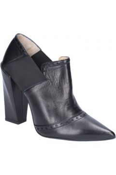 Bottines Gianni Marra MARRA bottines noir cuir textile BX80(98483800)