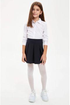 DeFacto Kız Çocuk Geniş Piliseli Basic Etek(125915371)