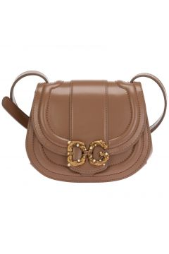 Women's leather cross-body messenger shoulder bag dg amore(123568974)
