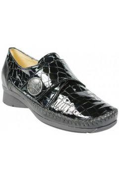 Ballerines Hirica Chaussure Daphne Croco Noir(127852548)