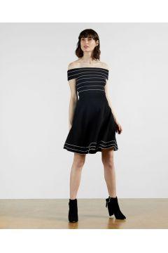 Bardot Knitted Skater Dress(126182962)