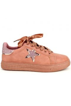 Chaussures Cendriyon Baskets Rose Chaussures Femme(115425441)