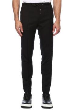 Paul Smith Erkek Siyah Dar Paça Yün Pantolon 36 US(121612627)