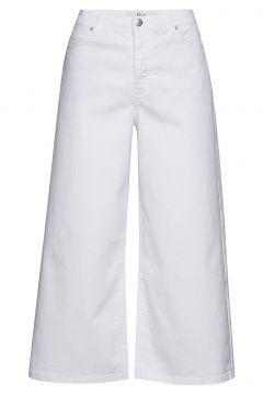 Abby 686 Crop Jeans Mit Weitem Bein Loose Fit Weiß FIVEUNITS(114154211)
