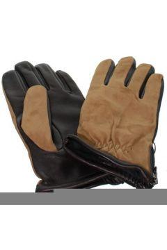 Gants Glove Story Gants en cuir agneau ref_glo42579 Marron(115557001)