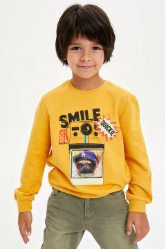 DeFacto Erkek Çocuk Baskılı Sweatshirt(108641952)
