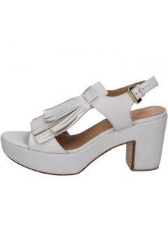 Sandales Shocks sandales gris cuir BY401(115401132)