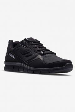 Lescon Flex Spın Erkek Spor Ayakkabı Siyah(107240382)