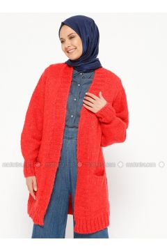 Coral - Acrylic -- Cardigan - Loreen By Puane(110319525)