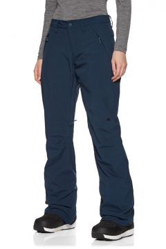 Pantalons pour Snowboard Femme Burton Society - Dress Blue Heather(111322883)
