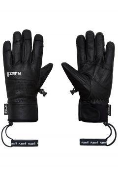 Planks Hunter Leather Gloves zwart(97231318)
