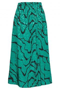 Aylingz Skirt Ma19 Knielanges Kleid Grün GESTUZ(114165220)