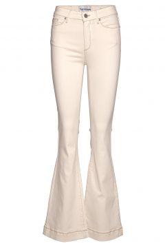 Albert Flare Antique Colour Jeans Mit Schlag Creme TOMORROW(114153488)
