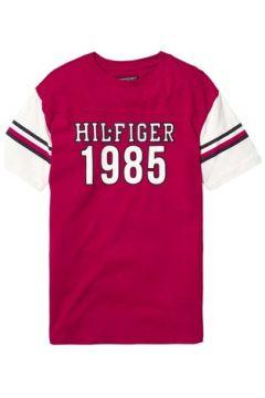 T-shirt enfant Tommy Hilfiger KS0KS00009 UNISEX VARSITY TEE(115434127)