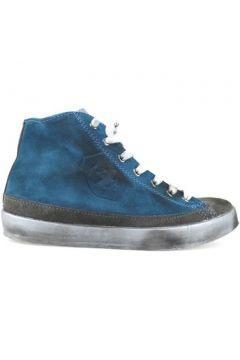 Chaussures Beverly Hills Polo Club POLO sneakers bleu gris daim AJ05(115399673)