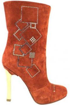 Boots Fabi bottes rouge daim am39(88469275)