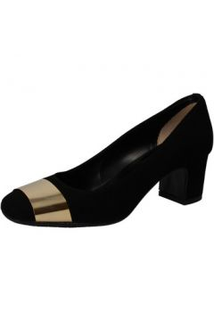 Chaussures escarpins Albano escarpins noir daim AE949(115419434)