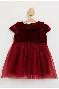 DeFacto Kız Bebek Kadife Elbise(108988155)