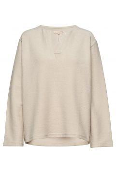 Reversed Split Sweatshirt Sweat-shirt Pullover FILIPPA K SOFT SPORT(114726051)