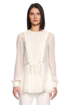Alberta Ferretti -Alberta Ferretti Beyaz Bluz(115705067)