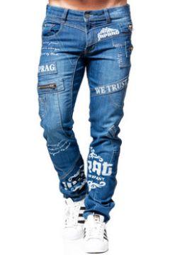 Jeans Cinc Jeans fashion coupe droite Jean 8050 bleu(115433597)