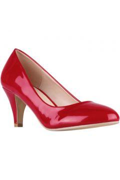 Chaussures escarpins Krisp Cours de talon de chaton de brevet(127905041)