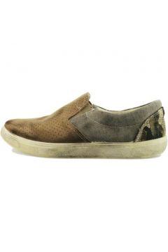 Chaussures Beverly Hills Polo Club POLO mocassins daim textile AH989(115400586)