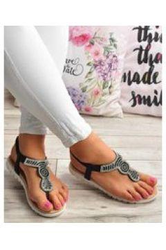 Pantofelek24.pl | Damskie sandały japonki CZARNE(112082805)
