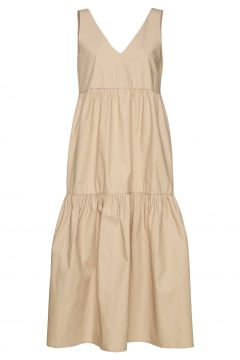 Bibigz Sl Dress Hs20 Kleid Knielang Beige GESTUZ(114165248)