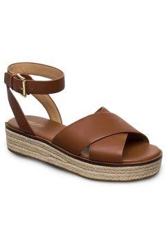 Abbott Sandal Sandalen Espadrilles Flach Braun MICHAEL KORS SHOES(114160442)