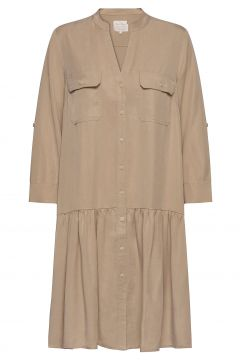 Cecilypw Dr Kleid Knielang Beige PART TWO(114164318)