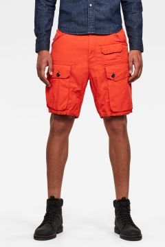 G-Star RAW Men Jungle Cargo Shorts Red(117927101)