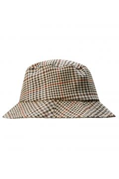 Bucket-Hat mit Karoprint(105814972)