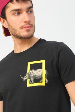 National Geographic Siyah T-Shirt(126442800)