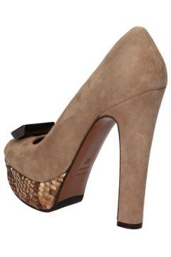 Chaussures escarpins Gianni Marra escarpins beige daim AD117(115393690)