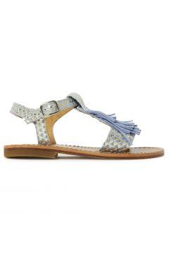 Sandalen mit Franzen(112327854)