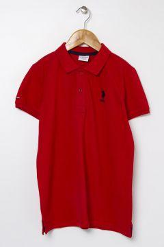 U.S. Polo Assn. Kırmızı Erkek Çocuk T-Shirt(114002767)