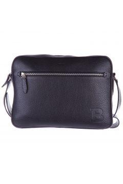 Men's leather cross-body messenger shoulder bag capa(118073770)