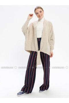 Beige - Acrylic -- Knitwear - REPP(110337624)